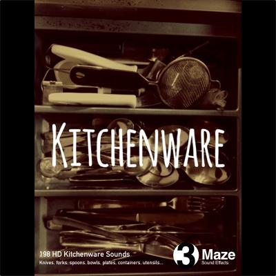 Kitchenware - Sound Effects Collection || 3Maze